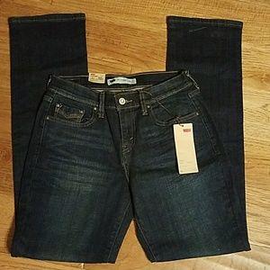 Women's NWT 2M/26 Straight Levi's 505 jeans-$12